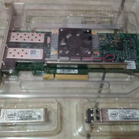 Broadcom BCM957810A1006G pci-e lan card 2x SFP 10g + modul