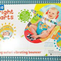 Bouncer bright star/roaming safari vibrating bouncer
