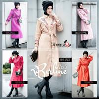 Harga berline by sheema qu tunik blouse atasan hijabers branded | Pembandingharga.com