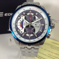 Casio Edifice EF 558 D Silver Blue 47mm Premium