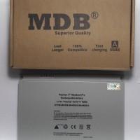 new model BARU MDB Baterai Laptop Apple MacBook Pro 17 A1189 MA458 Si