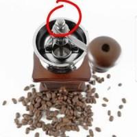 Grinder kopi Manual Putar Tuas Murah