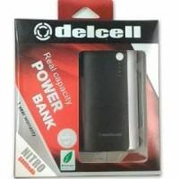 Delcell Nitro Power Bank Real Capacity - 6000mAh Berkualitas