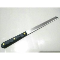 pisau roti dan kue tart 8 inch nakami/ pisau dapur serbaguna