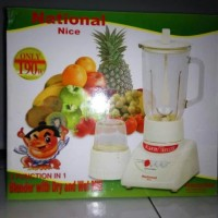 Rumah tangga blender National with dry and wet mill Nice MX-T2GN