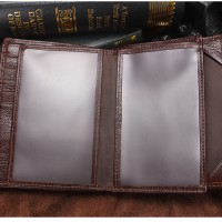 CONTACT'S pasport Brand Male Credit&Id Car Wallet high quality