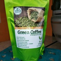 Jual Kopi Hijau / Green Bean Coffee bubuk murah ampuh bakar lemak Murah