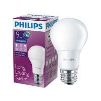 LAMPU LED BULB PHILIPS 9 WATT W/ 85 ENERGY SAVING