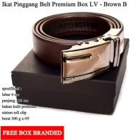 Gesper / Ikat Pinggang LV Premium Brown - B