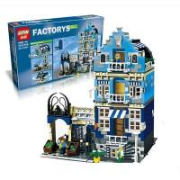 Market Street Factory Creator Lego kw 10190 Lepin 15007