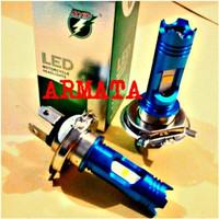 EXCLUSIVE Lampu Led Motor HS1-H4 Hi/Low Putih 6000K PALING MURAH