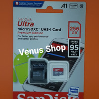 SANDISK MICROSD ULTRA 256GB 95MBPS A1 CLASS 10 /MICRO SD 256 GB 95MB/S