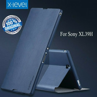 X-LEVEL FIB Sony Xperia Z Ultra Flip cover Leather Soft Hard Back Case