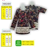 Gambar Model Batik, Baju Batik, Toko Baju Batik Online, HM024SBH2