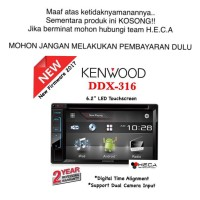 Kenwood DDX-316 / DDX316 Tape Mobil Head Unit Double Din Audio