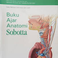 [ORIGINAL] Sobotta Buku Ajar Anatomi -- BARU TERBIT