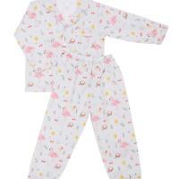 Mooi Piyama Baju Tidur Printing Premium Anak Flamingo Birds (Panjang)