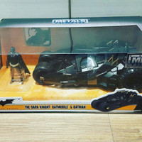 Jual JADA METALS DIECAST 1/24 1:24 BATMAN DARK KNIGHT & TUMBLER BATMOBILE Murah