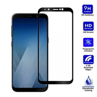 Full Cover Tempered Glass Samsung A8 Plus / A8+ 2018
