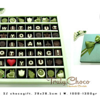 Trulychoco coklat praline valentine kado untuk kekasih