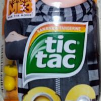 Permen Tic tac minion limited edition banana and tangerine Gru