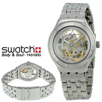 JAM TANGAN ORIGINAL SWATCH YAS100G BODY AND SOUL, GARANSI RESMI