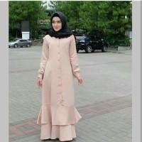 Syaluna Dress / Gamis Muslim Wanita / Maxi Dress