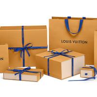 LV paperbag Authentic paper bag branded original Louis Vuitton