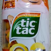 Permen Tic tac minion limited edition banana and tangerine Dru