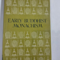 Buku Import Early Buddhist Monachism