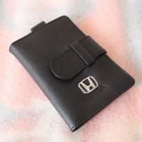 Dompet kulit STNK gantungan kunci mobil/motor HONDA (100% asli kulit)