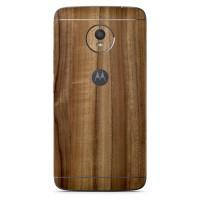Skin Handphone / Garskin Motorola Moto E4 Plus - 3M Classic Wood