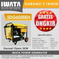 Genset Diesel Open 5 Kva Iwata - SDG6500EH