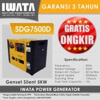 Genset Diesel IWATA 5Kva Silent - SDG7500D