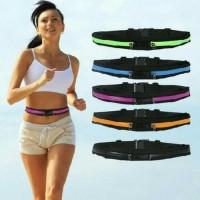 Double Pocket Running Belt - Tas Jogging model Ikat Pinggang