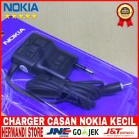 CHARGER CASAN NOKIA KECIL ORIGINAL 100% EXPRES MUSIK 5V-450MA