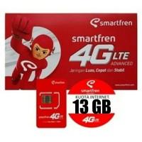 Perdana Kuota Smartfren GSM 13GB Belum Aktivasi Diskon