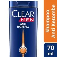 Clear Men Shampoo Anti Ketombe Anti Hair Fall 70ml