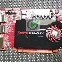 AMD ATI Firepro V4800 - Display Card 3D - VGA Workstation 1 GB 128 Bit