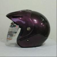 Helm Ink Cx ungu Replika Bukan Helm Kyt Mds Bogo Retro Cros