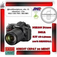 Nikon D7200 DSLR KIt 18-140mm Lens, Cash dan Bisa Kredit Cepat 30Menit