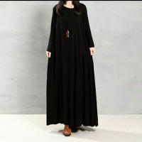 Dress Maxi ZANZEA Dengan Kancing Dan Kantung Dekorasi REAL PICTURE
