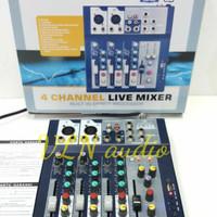 Harga mixer crimson 4 channel f 4 usb f4 usb original | Hargalu.com