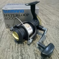 EXCLUSIVE Reel Pancing Shimano Hyperloop 6000FB 1 BB Terbaik