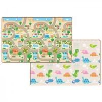 Living Codi Korean Playmat Anak Bayi - Happy Town/Dino