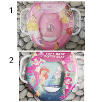 Potty Seat With Handel (Toilet training Anak)