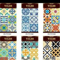 Stiker Tiles,Stiker Lantai,Stiker Keramik,Stiker Dapur