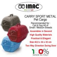 Pet Cargo / Kandang Anjing, Kucing, Kelinci, dan Musang - Abu-Abu
