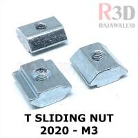 T Nut M3 Tee Nut T Sliding Nut 20-M3 Square Aluminium Profile 2020