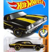 '69 Dodge Charger 500 HITAM / BLACK MOONEYES Hot Wheels HW Hotwheels